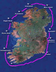 2012 round ireland yacht race map